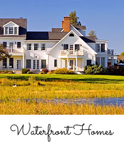 Photo of waterfront home