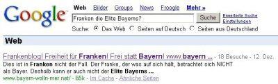 Franken ist nicht Bayern