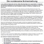 Bayern-Info 2019/1 online - Die wundersame Brotvermehrung