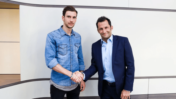 Goretzka ultimately signed for FC Bayern