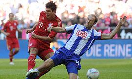 Bayern München 4-0 Hertha Berlin