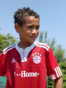 Noah Shawn in his Bayern days