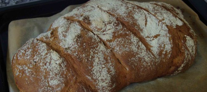 Homemade Ruchbrot
