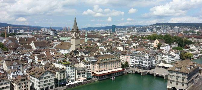 Impressionen aus Zürich