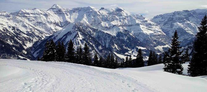 Winterimpressionen vom Ortstock (Glarnerland)
