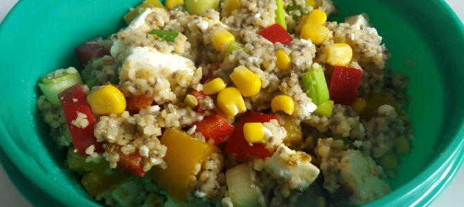 Couscous-Chia Salat