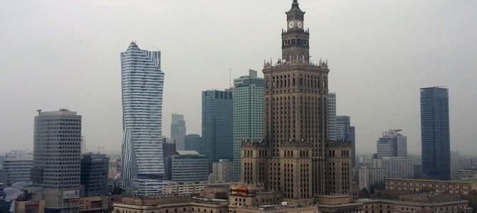Spaziergang durch Warschau