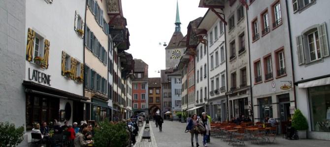 In der Schweiz unterwegs – Spaziergang durch Aarau