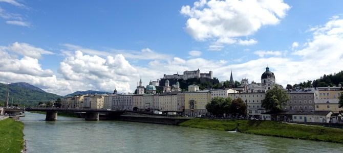 Spaziergang durch Salzburg