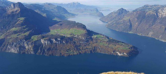 In der Schweiz unterwegs – Fronalpstock, Huserstock und der Gratwanderweg Stoos