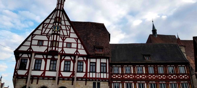 Viel Fachwerk in Forchheim