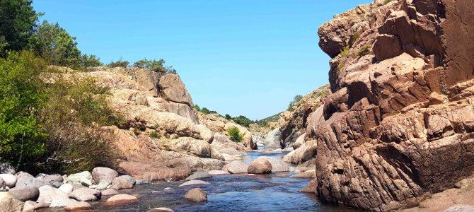 Korsikas Flüsse: Am und im Fango
