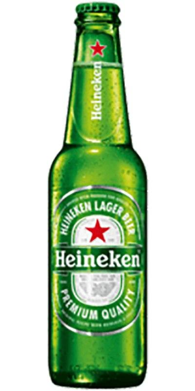 Heineken Lager stubby 330ml