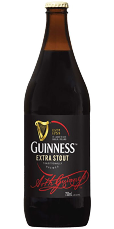 Guinness Stout Bottle 750ml