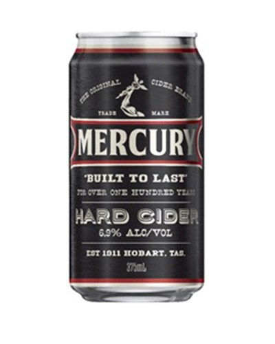Mercury Hard Cider Cans 375mL