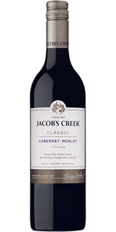 Jacob's Creek Classic Cabernet Merlot 750ml