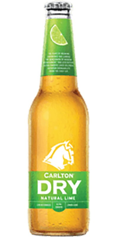 Carlton Dry Lime Stubby 355ml