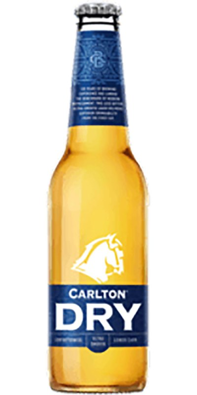 Carlton Dry stubby 355ml