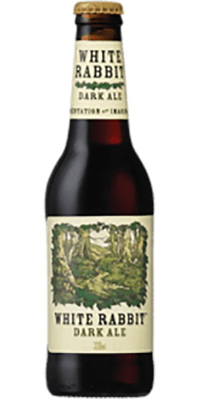 White Rabbit Dark Ale Bottle 330ml