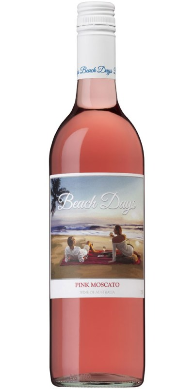 Beach Days Pink Moscato 750ml