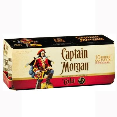 Captain Morgan 10pack