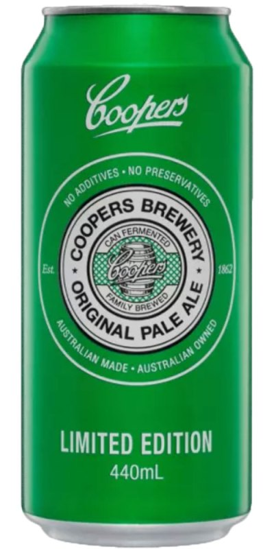 Coopers BIG Pale Ale Limited Edition Cans 440ml (Carton)