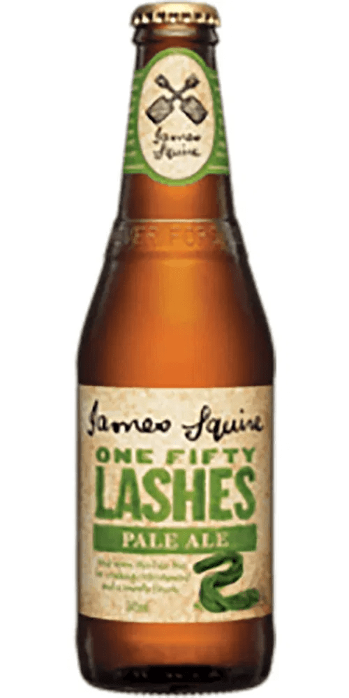 James Squire 150 Lashes Pale Ale Bottle 24 x 345ml (Carton)