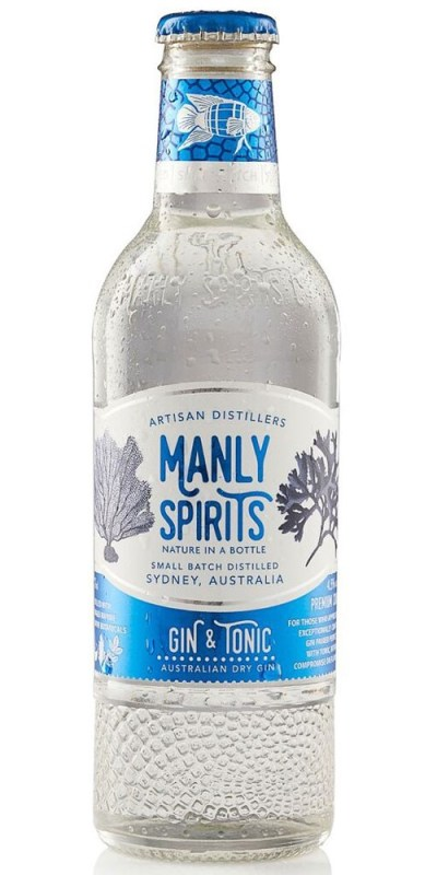 Manly Spirits Ready To Drink G&T