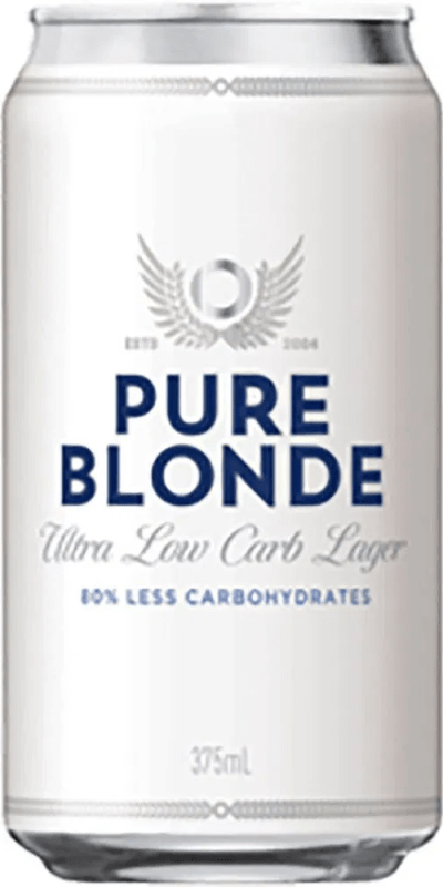 Pure Blonde Ultra Low Carb Lager Cans 375ml (Carton)