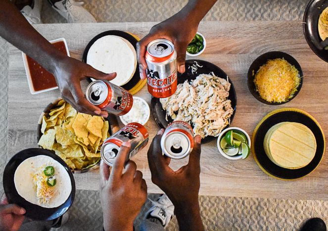 Foods to enjoy with Tecate