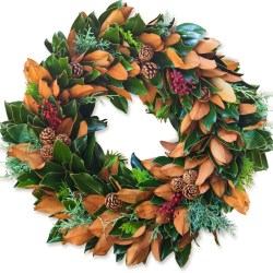 Little Gem & Berries Wreath