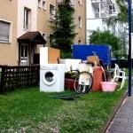 Auflösung der Wohnung