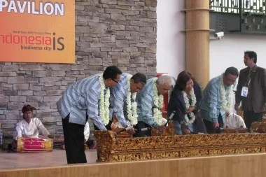 Indonesien auf der Expo 2010 Foto-Quelle: Jakarta Post