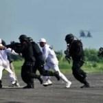 Antiterrorübung im Vorfeld des Obama besuches