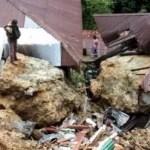Felsen begrub sechs Menschen