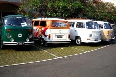 VW Treffen in Bandung Indonesien Foto Quelle: Jakarta Post