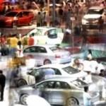 Internationale Autoaustellung in Indonesien