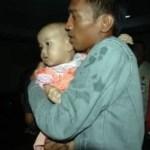 Baby überlebte Schiffsunglück