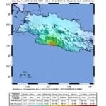 Erdbeben 5,5 in Süd Java