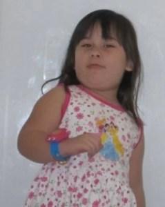 Unsere Tochter Sarah 4 Jahre alt