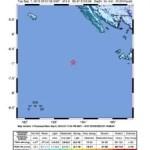 Erdbeben 5,8 vor Süd-West Sumatra