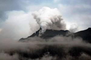 Mount Sinabung in Karo Fotoquelle: Jakarta Post