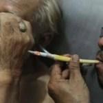 Irre Tabak-Klinik in Indonesien