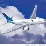 Garuda Indonesia stockt seine Flotte mit neuen A330 auf