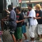 Bettler werden vor den Feierlichkeiten aus Jakarta entfernt