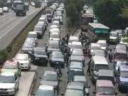 Täglicher Stau auf Jakartas Straßen Fotoquelle: Jakarta Post