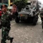 Nach Unruhen setzt die Regierung Panzer und Soldaten ein