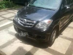 Unser Auto nach dem Unfall