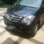 Erster Verkehrsunfall in Indonesien