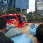 Jakarta steht still
